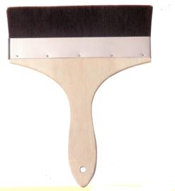 Flat brush 20 cm.