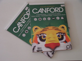 Canford blok assorted colors, 150gr.