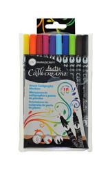 Duo tip kalligrafie brush marker
