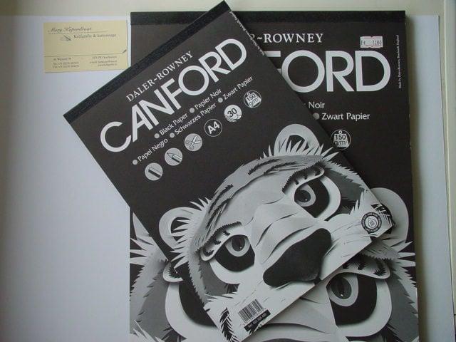 Canford block,150gr, black