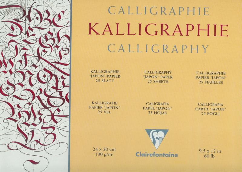 Sim. Japon Kalligrafie blok.