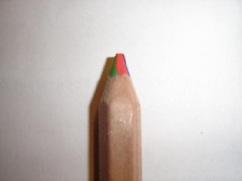 Potlood 4 kleuren