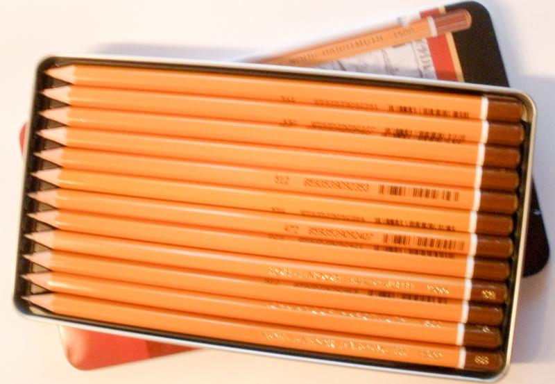 Koh-I-Nohr pencil set