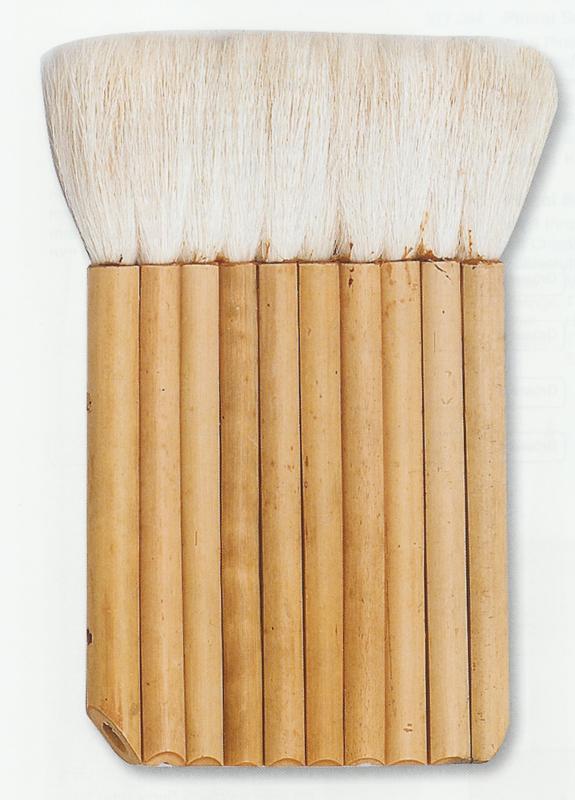 Bamboe penseel, panfluit.