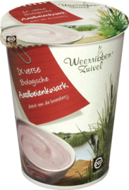 Aardbeienkwark 500 g | Weerribben