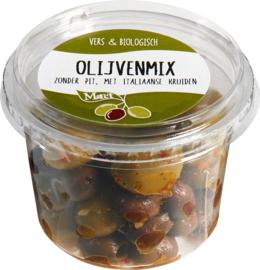 Olijvenmix Italiaanse kruiden | 125 g