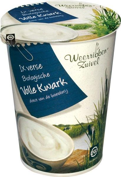 Volle kwark 500 g | Weerribben