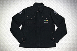 JACKET CANVAS BLACK