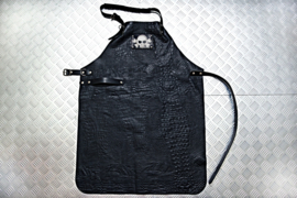 LEATHER APRON SKULL