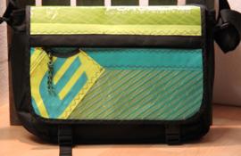 Messenger tas XL oud surfzeil