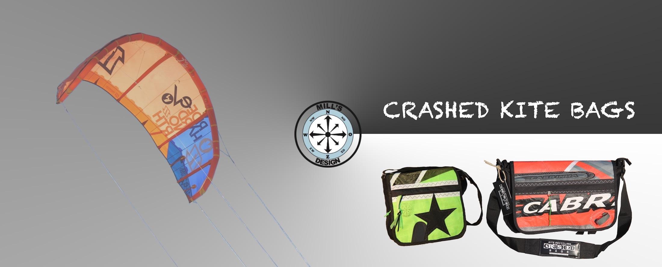 crashed kite bags