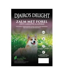 Djairo's Delight Adult -kleine rassen- Zalm met forel, 2kg
