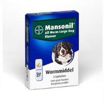 Mansonil All Worm Large Dog