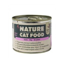 Nature Cat Food Zalm/Kip/Kruiden 200gr