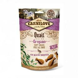 Carnilove Soft Snack Quail/Oregano 200gr