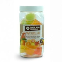 ZooFaria FruitCups Mix Pot  24st