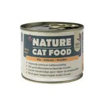 Nature Cat Food Kip/Kalkoen/kruiden 200g