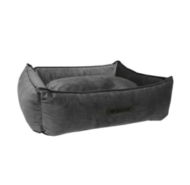 Mand Wooff Cocoon Velours  Donkergrijs M 70 x 60 x 20 cm