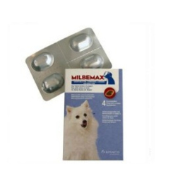 Milbemax Kauwtablet Ontworming Hond Klein <5kg