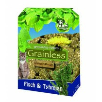 JR Farm Cat Grainless Nature Drops Vis/Tijm 30gr