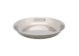 RVS Voer/Waterbak platte uitvoering
