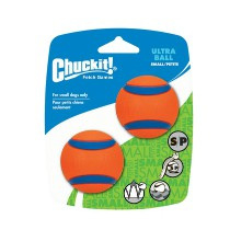 Chuckit Ultra Ball 2 Pack S