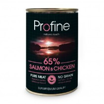 Profine Grain Free Pure Meat Salmon & Chicken 400gr