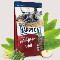 Happy Cat Adult  Voralpen Rind (Alpen Rund) 300gr
