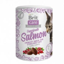 Brit Care Cat Snack Superfruits Salmon 50gr