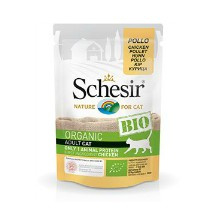 Schesir Cat Bio Chicken 85gr