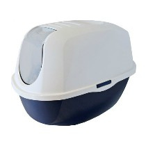 Moderna Smart Cat Toilet DonkerBlauw/Wit