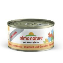 Almo Nature blik Tonijn/Garnalen 70gr