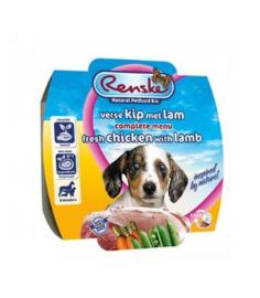 Renske Vers Vlees Maaltijd Gestoomd Kip/Lam Puppy 100gr