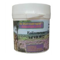 Dierendrogist Foliumzuur Vitamine B12 100 stuks