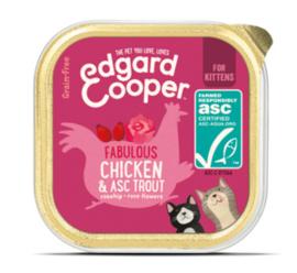Edgard & Cooper Kip en ASC-forel,  Kitten 85gr