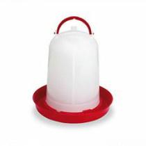 Watertoren Plastic Rood/Wit 1,5ltr