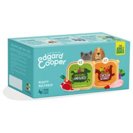 Edgard & Cooper Multipack Adult Kip/Lam  4x300gr