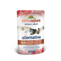 Almo Nature Cat Alternative kippenborst pouche 55gr