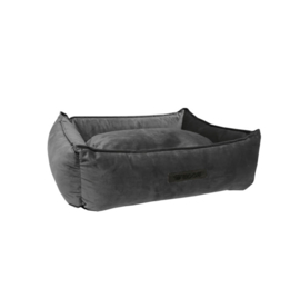 Mand Wooff Cocoon Velours S Donkergrijs Small 60 x 40 x 18 cm