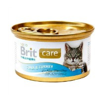 Brit Care Cans Cat Tuna & Turkey 80gr