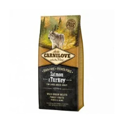 Carnilove Grain Free Adult Salmon/Turkey Large Breed 1,5kg