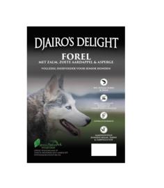 Djairo's Delight Senior Forel en Zalm, 2kg