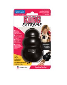 Kong hond Extreme rubber M, zwart.