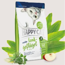 Happy Cat Sensitive Land-Geflügel (Organische Gevogelte) 300gr