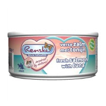 Renske Vers Vlees Kat Zalm/Tonijn 70gr
