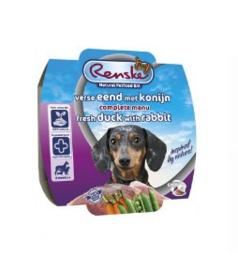 Renske Vers Vlees Maaltijd Gestoomd Eend/Konijn 100gr