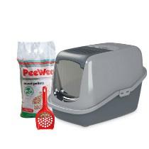 PeeWee Startpakket EcoHus Antraciet Grijs