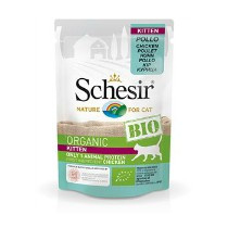 Schesir Cat Bio Kitten Chicken  85gr