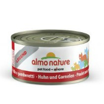Almo Nature blik Kip/Garnaal 70gr