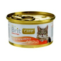 Brit Care Cans Cat Chicken Breast 80gr